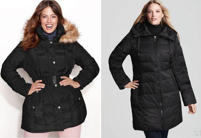 Стильные женские пуховики зима 2018 года – длинные, короткие, оверсайз, с мехом, капюшоном
