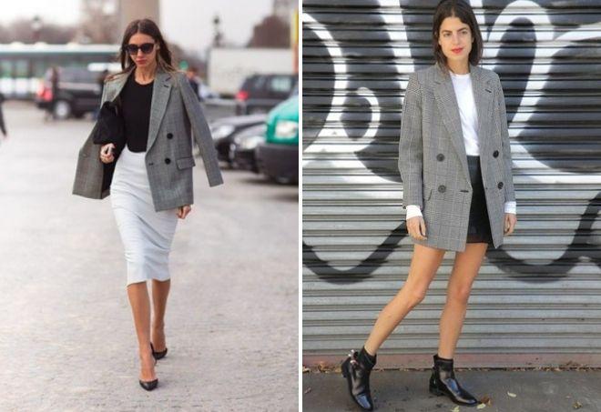 образ с серым пиджаком