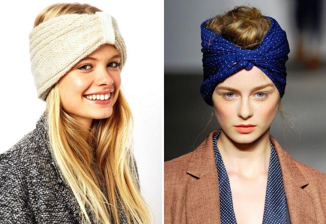 повязки на голову для девушек