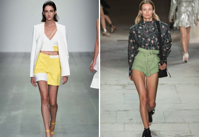 летние тренды в одежде 2018