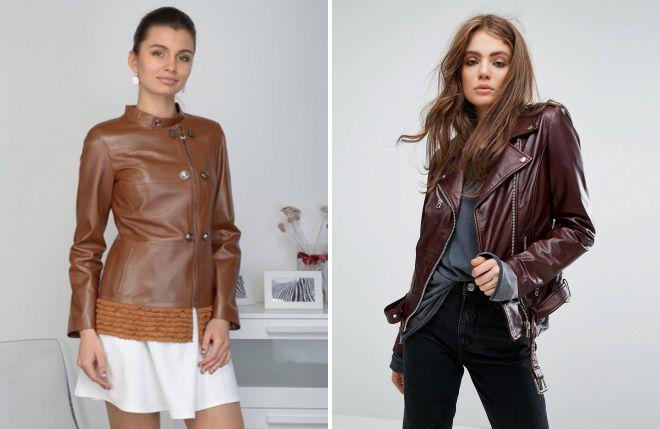 кожаные куртки в ретро стиле