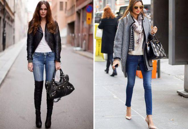 женская обувь под джинсы