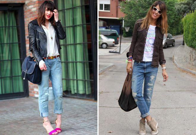 женская обувь к джинсам