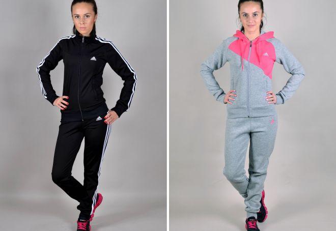 df62d323 Модные женские зимние спортивные костюмы для девушек – теплые, с ...