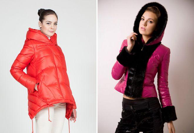 1f76a9ae84c1 Модная женская зимняя куртка с капюшоном – парка, бомбер, вязаная ...