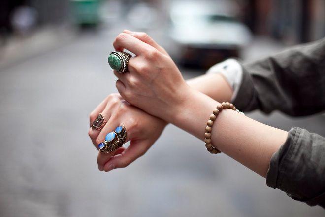 на каком пальце носить кольцо с бирюзой