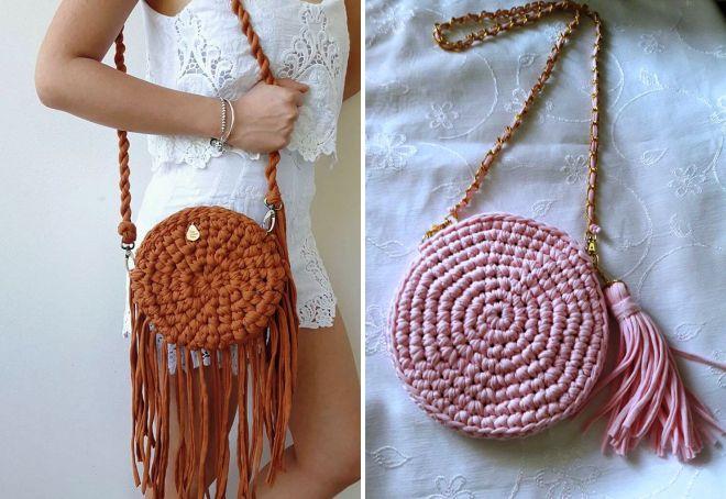 7f682a742598 Модная сумка из трикотажной пряжи – клатч и рюкзак, торба и мешок ...