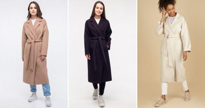 Пальто-халат с кедами идеи