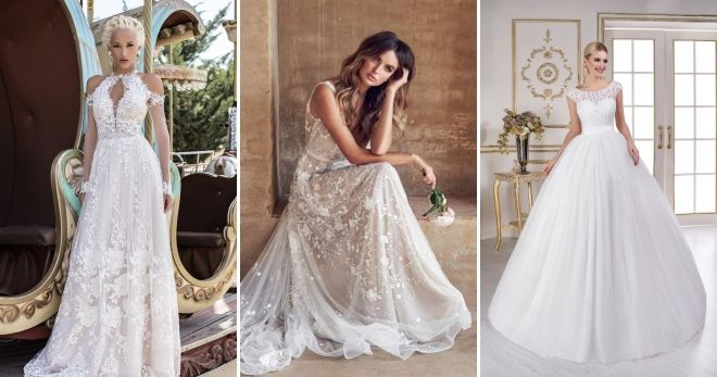 4bd9626b897 Свадебные платья 2019 – модные тенденции – пышные