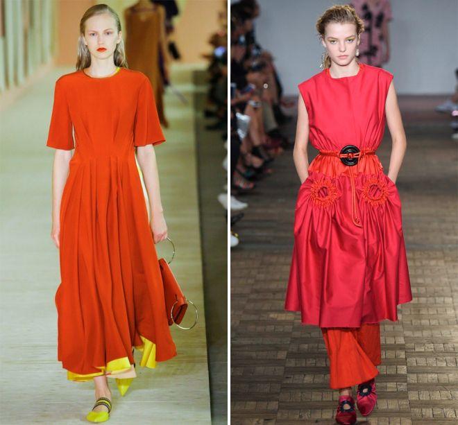 туфли к красному платью