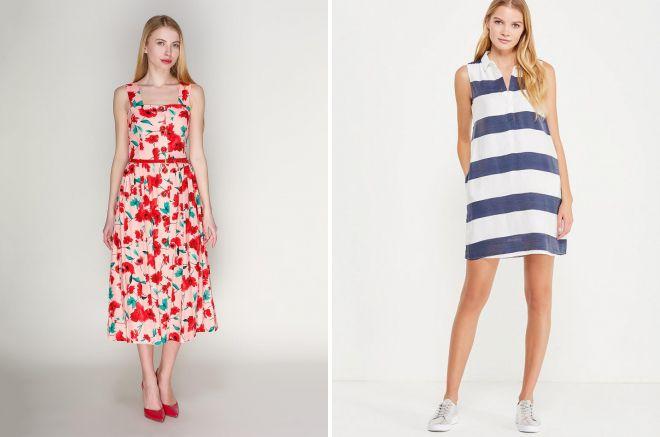 e3dcef9742c модели летних платьев и сарафанов 2018