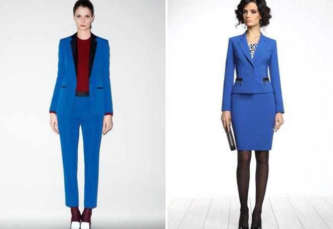 деловые костюмы для девушек