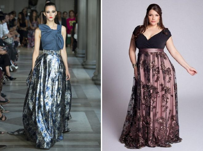 длинные юбки с цветочным принтом 2017