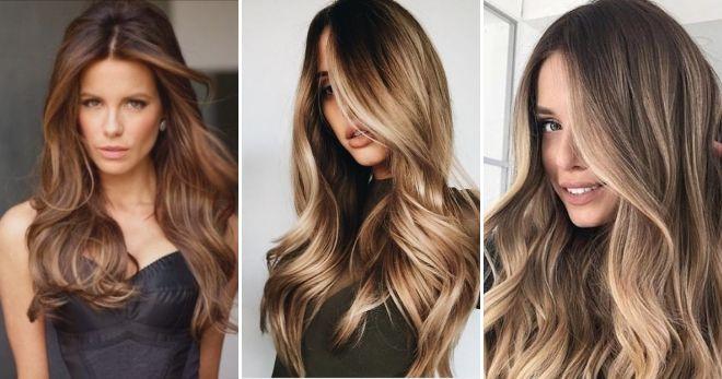 Кому идет окрашивание волос балаяж мода