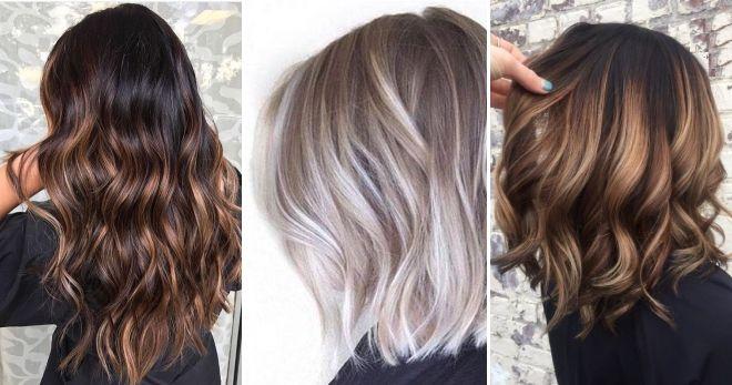 Окраска волос балаяж мода