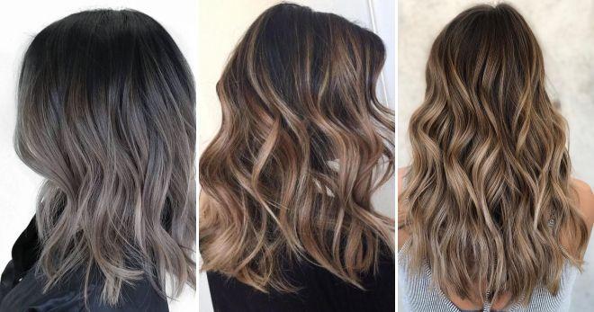 Окраска волос балаяж стиль