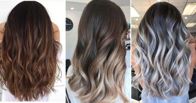 Модное окрашивание волос балаяж мода