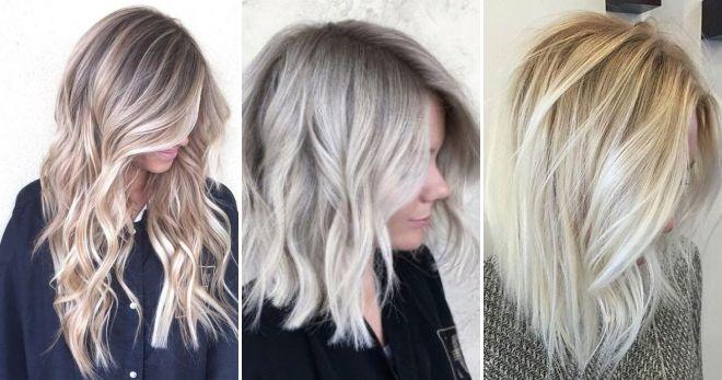 Балаяж блонд стиль