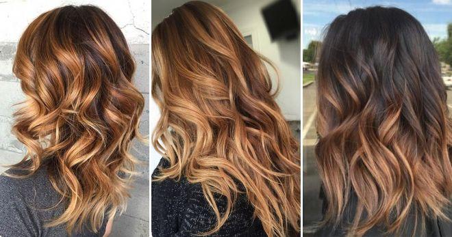 Техника окрашивания волос балаяж мода