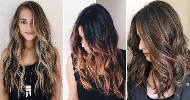 Техника окрашивания волос балаяж дизайн