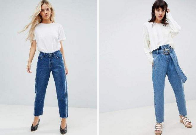 brede amerikanske jeans