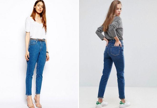 tynne amerikanske jeans