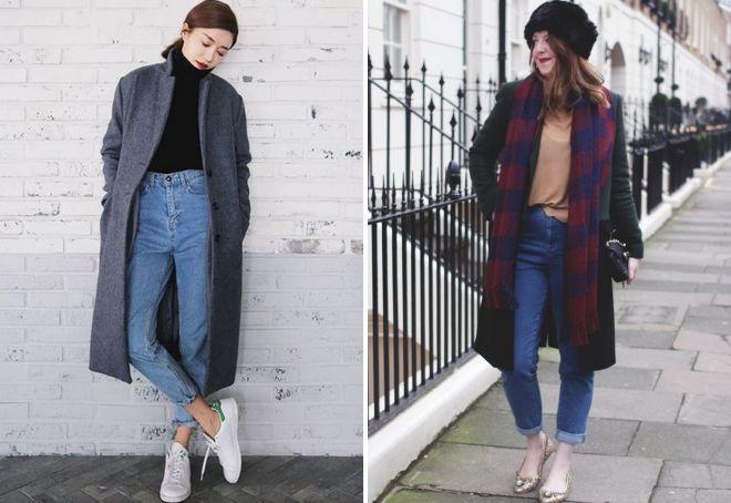 trendy utseende med amerikanske jeans