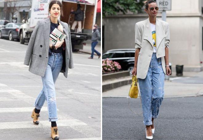 Amerikanske jeans med jakke