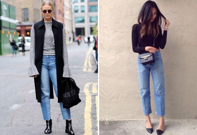quelles chaussures correspondent aux jeans américains