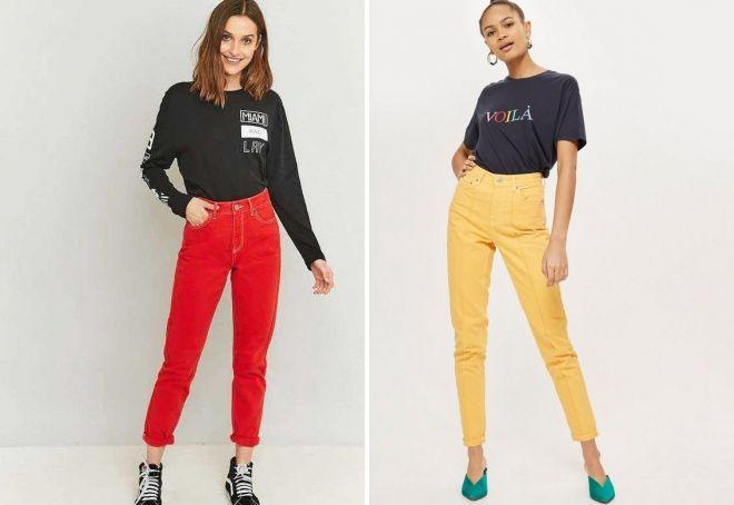 Amerikansk jeans farge