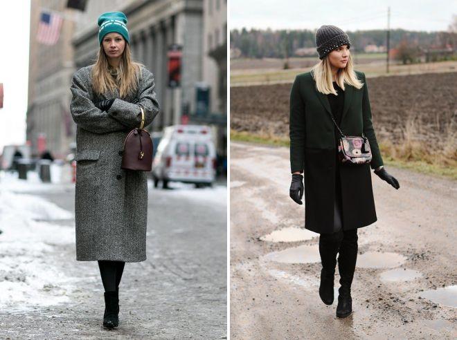 chapeau sous le manteau drapé