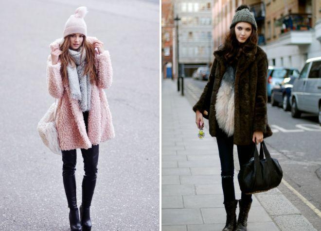 chapeau au manteau de fourrure