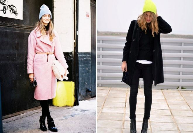 Bonnet avec manteau