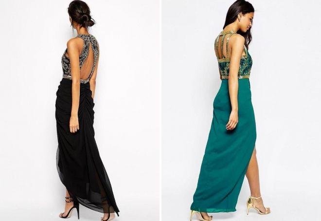 համակցված զգեստներ հետ sequins