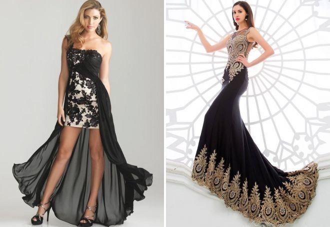 modelos de vestidos combinados