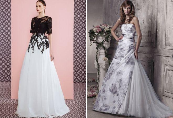 gaun pengantin gabungan