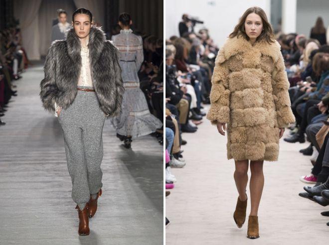 модни крзнени палта зима 2019
