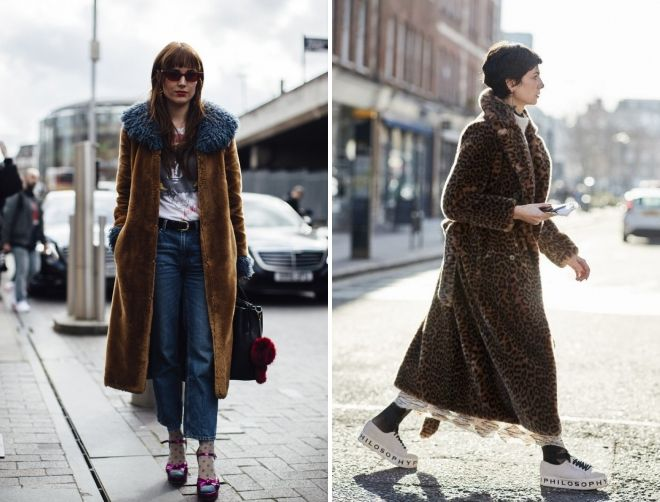 женски модни зимски крзнени палта 2018 2019