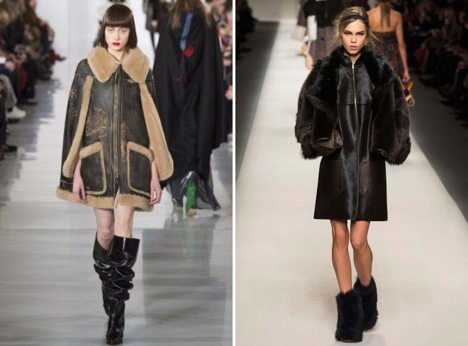 овчи мантили мода зима 2019 на годината