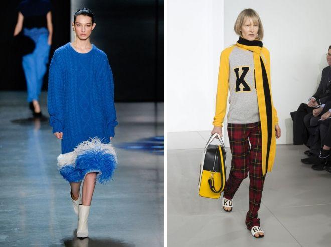 мода для женщин зима 2019 год