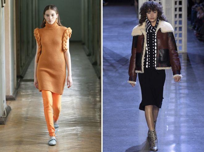 молодежная мода зима 2019