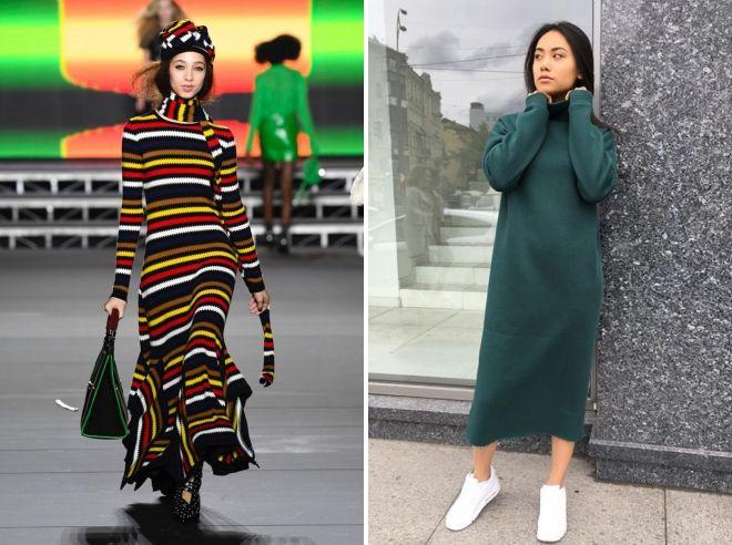 молодежная мода зима 2019 года
