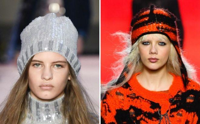плетени капи зима мода 2018 2019