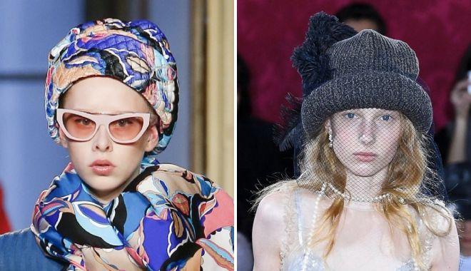 шапки колпак мода зима 2019