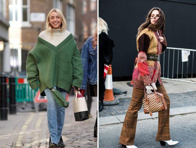 плетена модна зима 2019