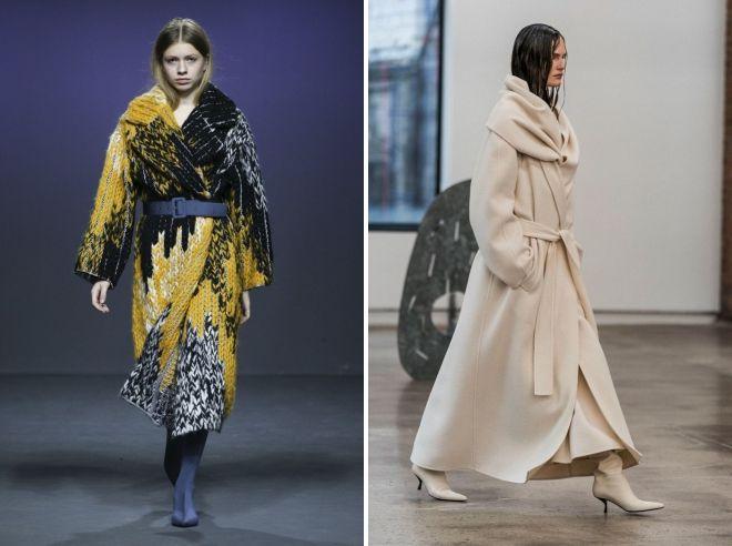 модна зима 2019 outerwear