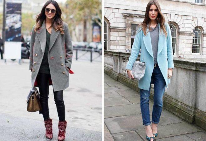 с чем носить пальто-пиджак