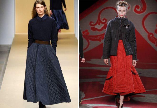 с чем носить длинную шерстяную юбку зимой блог о рукоделии и моде