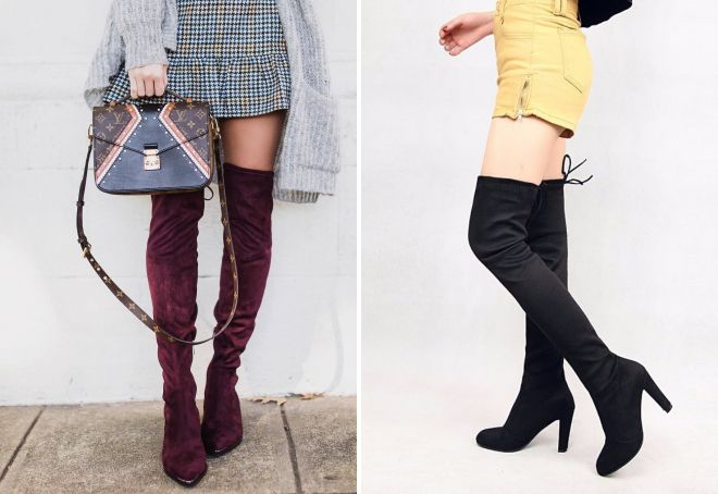 afe47b406b Χειμώνας υψηλές μπότες - με τι να φορέσει και πώς να δημιουργήσετε ...