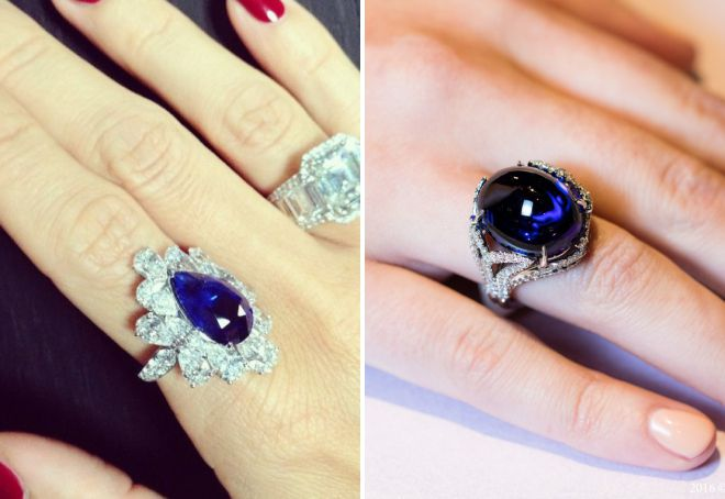 сколько стоит кольцо с сапфиром